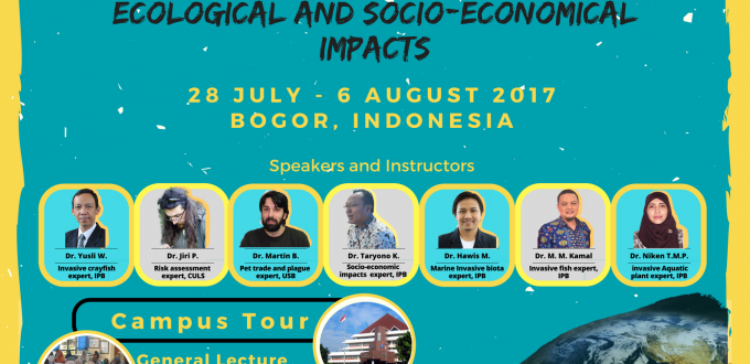 Summer Course on Tropical Aquatic Bio Invasion: Ecological and Socio-economical Impacts.